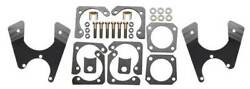 64-72 Gm A Body Front And Rear Power Disc Brake Kit W/ 8dual Zinc Booster