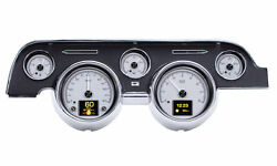 1967-68 Ford Mustang Hdx System, Silver Face