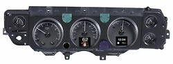 1970-72 Chevy Chevelle Ss Hdx System Black Face