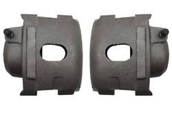 62-72 A Body Front Rear Power Disc Brake Drilled Rotors 5x4.5