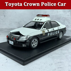 Ignition 118 Model Car Toyota Crown Grs180 The Metropolitan Police Department