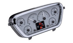 1953-55 Ford Pickup Hdx System, Silver Face