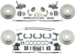 1974-78 Mustang Ii Stock Height Front And Rear Standard Disc Brake Kit