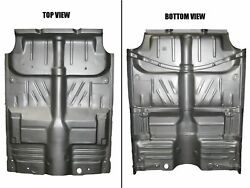 Complete Floor Pan W/ Braces 53-54 Chevy 2 Or 4 Dr Weld Through Primer