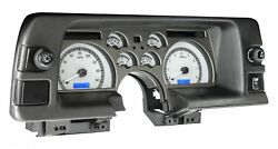 1990-92 Chevy Camaro Vhx System Silver Alloy Style Face Blue Display