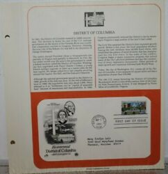 1991 Bicentennial District Of Columbia 2561 Fdi Stamp And Cover