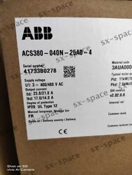 New Acs380-04n-25a0-4 By Dhl Or Ems