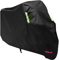 Motorcycle Cover All Weather Tear Proof For 104 Inches Xxl Anglink 13