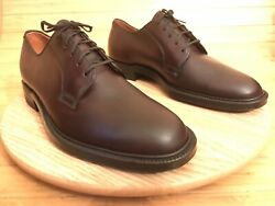 French Shriner And Urner Shell Cordovan Dress Shoes Briar Menandrsquos 10 D