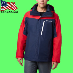 Columbia Men's Whirlibird Iv Insulated Interchange Jacket Red Blue 1866751464