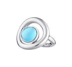 Idole De Christofle Ring Cabochon Sterling Silver 06762849