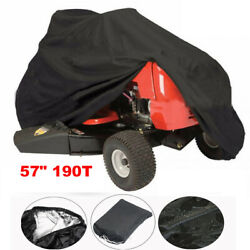 57 Lawn Mower Tractor Cover Uv Protection Waterproof Garden Outdoor Yard Riding