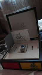 Jacob And Co. Stainless Steel And Diamond Angel Quartz Watch W/ Box And Papers
