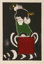 Luis Landoacutepez Loza Image Into Space Etching With Aquatint Signed And Numbered In