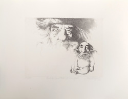 Charles Bragg And He Saw That It Was Good 2 Etching Signed Numbered And Tit