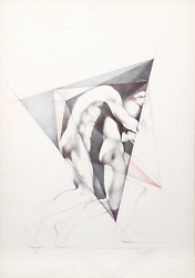 Helene Guetary Move Ii Lithograph Signed And Numbered In Pencil