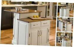 Woodbridge White Kitchen Island by