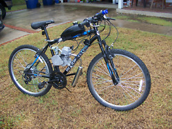 Motorized Gas-powered Bicycle - Fully Assembled And Tested.