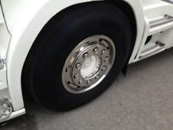 To Fit Volvo Mercedes Man Iveco Truck Super Single Wheel Trims Covers X2 120mm
