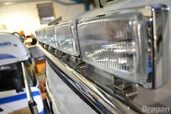 To Fit Volvo Fh Series 2 And 3 Low Cab Steel Roof Light Bar + Flush Leds + Spots