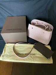 Louis Vuitton 2 Way-bag Limited Color Light Pink Unused Ladies F/s From Japan