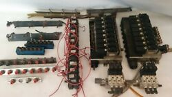 Lot Of Pneumatic Manifold Smc Valves Nvfs2100 With 8 Valve Base And Others