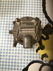 Teledyne Continental Motors Fuel Injection Distributor P/n 631351 R-1