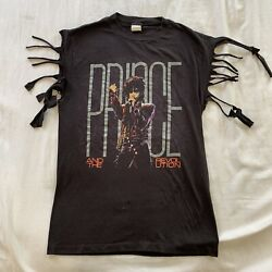 Rare And Revolution T-shirt Mens Size Large Black Vintage Preowned 1980s