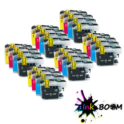 Lot Ink Cartridges Fits Brother Lc51 Dcp-135c Mfc-235c Mfc-440cn Fax-2480c