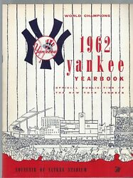 Vintage New York Yankees Yearbook 1962 World Champions Lot 5