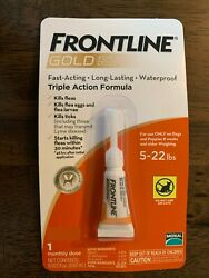Frontline Gold for Dogs 5 22lbs lbs flea amp; tick treatment 3 Single Dose $18.00