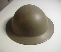 Post Wwii British Type Dutch B56 2sln Steel Helmet With Liner And Chin Strap