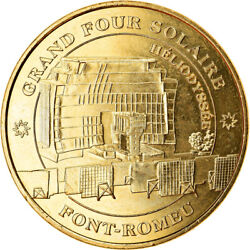 [910210] France Token Font-romeu - Four Solaire 2017 Mdp Ms Cupro-nickel