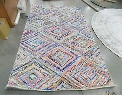 Multi 5and039 X 8and039 Damaged Binding Rug Reduced Price 1172602056 Nan314a-5