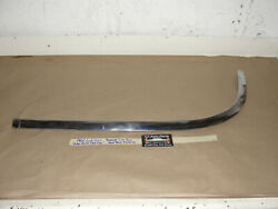 60 Cadillac Deville Flat Top Right Center Rear Roof Panel Upper Molding Trim