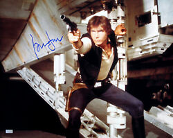 Harrison Ford Signed Autographed Star Wars Han Solo 16x20 Photo Tristar