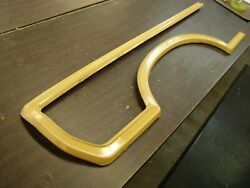 Oem Ford 1968 1969 Torino Station Wagon Country Squire Fender Mouldings Trim Nos
