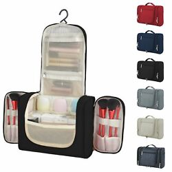 GOHOME Travel Cosmetic Bag Makeup Case Pouch Toiletry Hanging Wash Organizer Bag $12.99