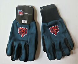 Two Pair Of Chicago Bears Sport Utility Gloves From Forever Collectables