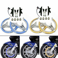 Motorcycle Chrome Accessories Rotor Led Covers For Honda Goldwing Gl1800 2018