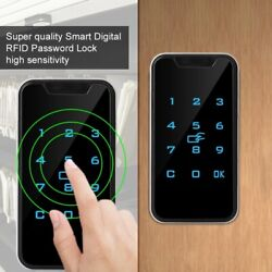 Smart Electronic Digital Password Door Lock Keypad Touch Screen With Rfid Card