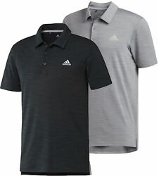 adidas Ultimate365 Heather Golf Polo Shirt Men#x27;s New Choose Color amp; Size $29.99