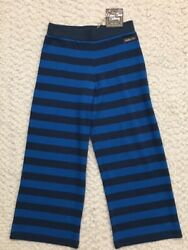 Matilda Jane 435 Girls Striped Cropped Pants * 12 * NEW