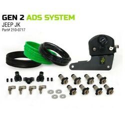 Up Down Air 210-0717 Gen 2 4 Tire Inflation Systems For 07-18 Jeep Jk/jku New