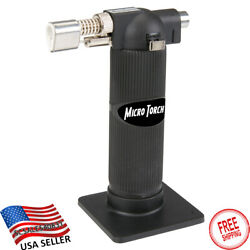 Hand Held Blow Torch Mini Butane Gas Fuel Culinary Tool Hobby Craft Soldering