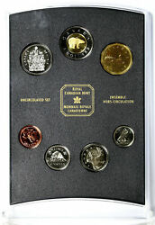 2002 Canada Uncirculated Coin Set Oh Canada