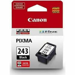 Genuine Canon Pixma Pg-243 Black Ink Cartridge - New And Sealed