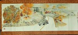 Debbi Chan Saccomanno Hand Painted Watercolor Scroll Proud To Be From Idaho 2