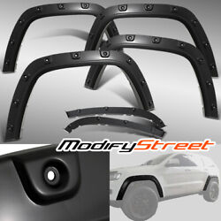 Heavy Duty Pocket Style Smooth Fender Flares For 2011-2016 Jeep Grand Cherokee