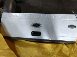 2014 F250 King Ranch Tailgate With Sissy Step/pearl White/bumper Included